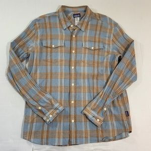Patagonia Organic Cotton Button Up Shirt Plaid L